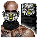 pañuelo sin costuras,Juego De Tronos, Transformers Megatron 3d Hip-hop Magic Turban, Bufanda Facial A Prueba De Viento 24 * 48cm A