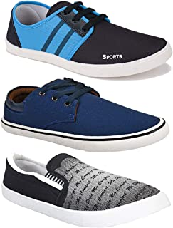 SWIGGY Combo Pack of 3 Training Shoes, Walking Shoes, Gym Shoes, Sports Shoes, Running Shoes, Sneakers Shoes, Loafers Shoe...