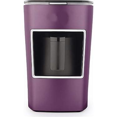 Kaffeevollautomat One-Touch-Bedienung Tragbare Kaffeemaschine Eine Berührung zum Brauen Thermkanne und Timer-Funktion Schnelles Aufheizen Schnelles Aufheizen für Zuhause, Büro, Wohnmobil