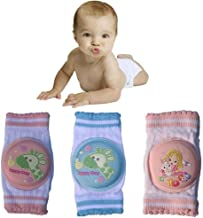 Baby Knee Pads Crawling Cotton 2020 New Collection Elbow Leg Warmers Breathable Anti-slip Protector Toddler, Baby, Infants, Girls, Boys, Including 2 Pairs Heavy-duty 650000 Facebook Likes