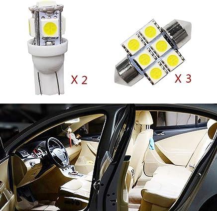 para Land Cruiser Super Brillante Fuente de luz LED Interior Lámpara de Coche Bombillas de Repuesto