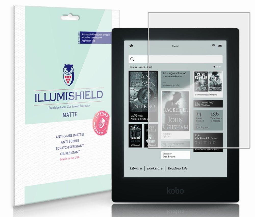 iLLumiShield Reader Anti Glare Anti Bubble Anti Fingerprint