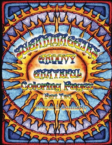 Suggarmaggies Groovy Grateful Coloring Pages 2