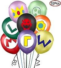 32PCS Super Mario Balloons Balloons Party Supplies 12