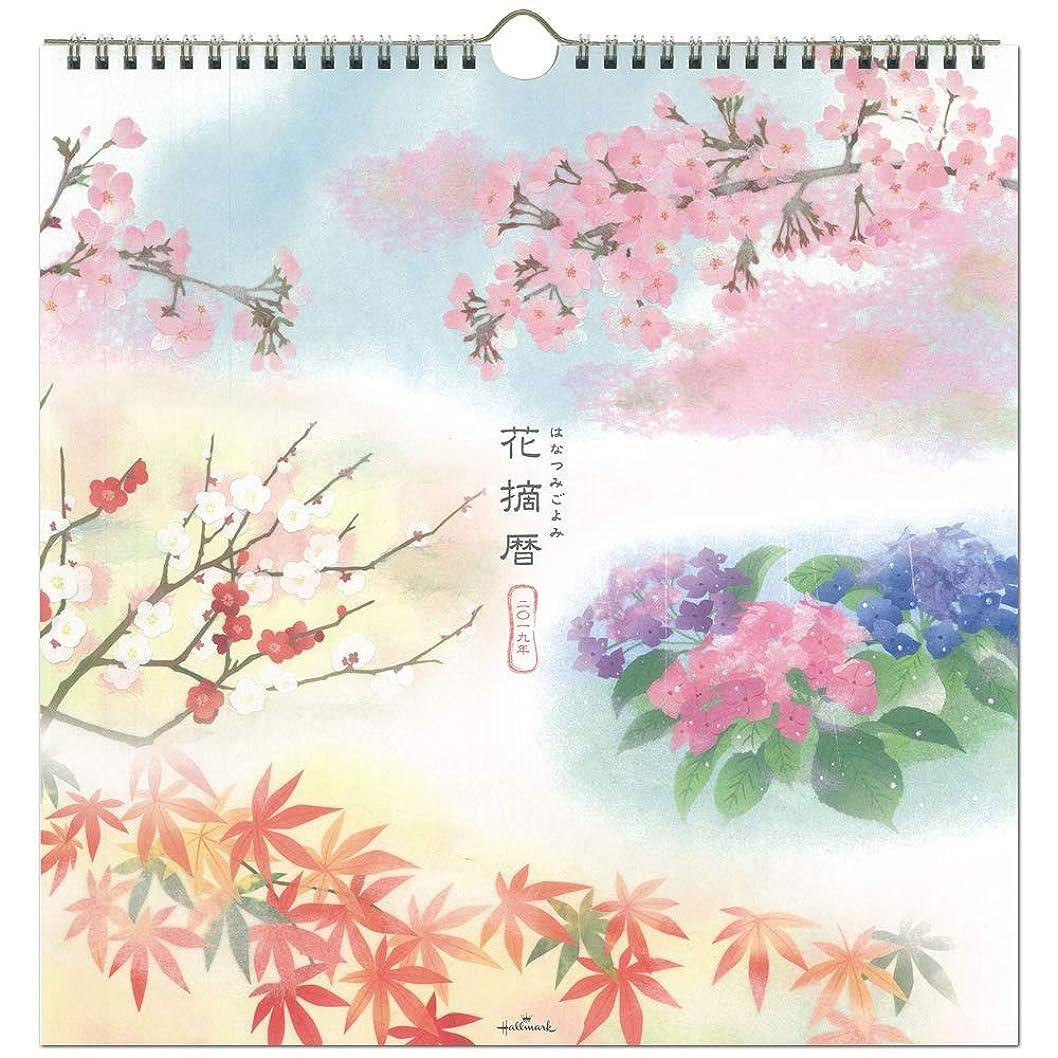 自動的に流用するレビュー日本ホールマーク 花摘暦 2019年 カレンダー 壁掛け 大 743840