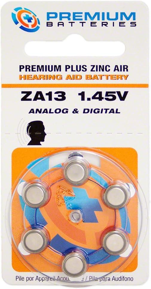 Special sale item Premium Excellent Batteries Zinc Air Hearing Aid ZA13 1.45V Size