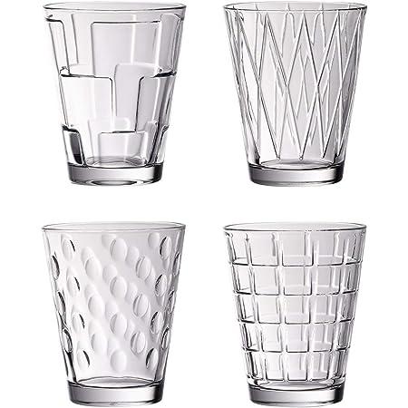 Villeroy & Boch 11-3620-8152 Dressed Up - 4 Gobelets à eau, 0.31 liters, Transparent