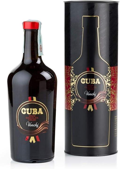 Liquore al cioccolato e rum, 700ml venchi crema 102141