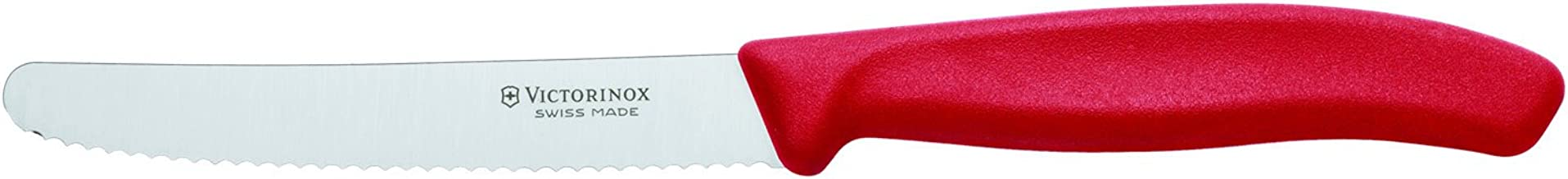 Victorinox 6.7831 Swiss Classic Steak&Tomato Knife, Red