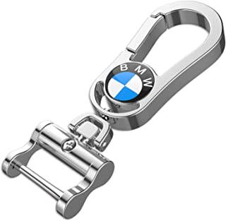 Best gift 2019 BMW Key chain Best key ring both side BMW brand Logo