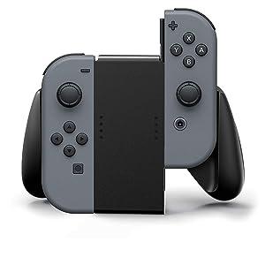 PowerA Joy Con Comfort Grips for Nintendo Switch Black