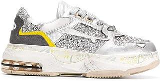 Luxury Fashion   Premiata Women DRAKED020 Silver Leather Sneakers   Spring-summer 20