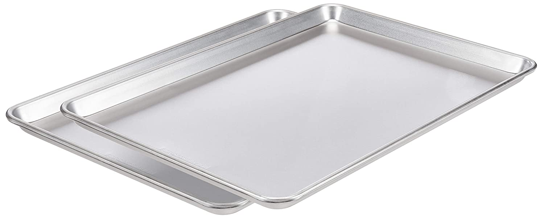AmazonCommercial Aluminum Baking Sheet Pan 21 x shop Inch o Pack Nashville-Davidson Mall 15