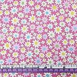 YZMY Stoff Für Patchwork 50 * 145Cm Blumen Patchwork 100%