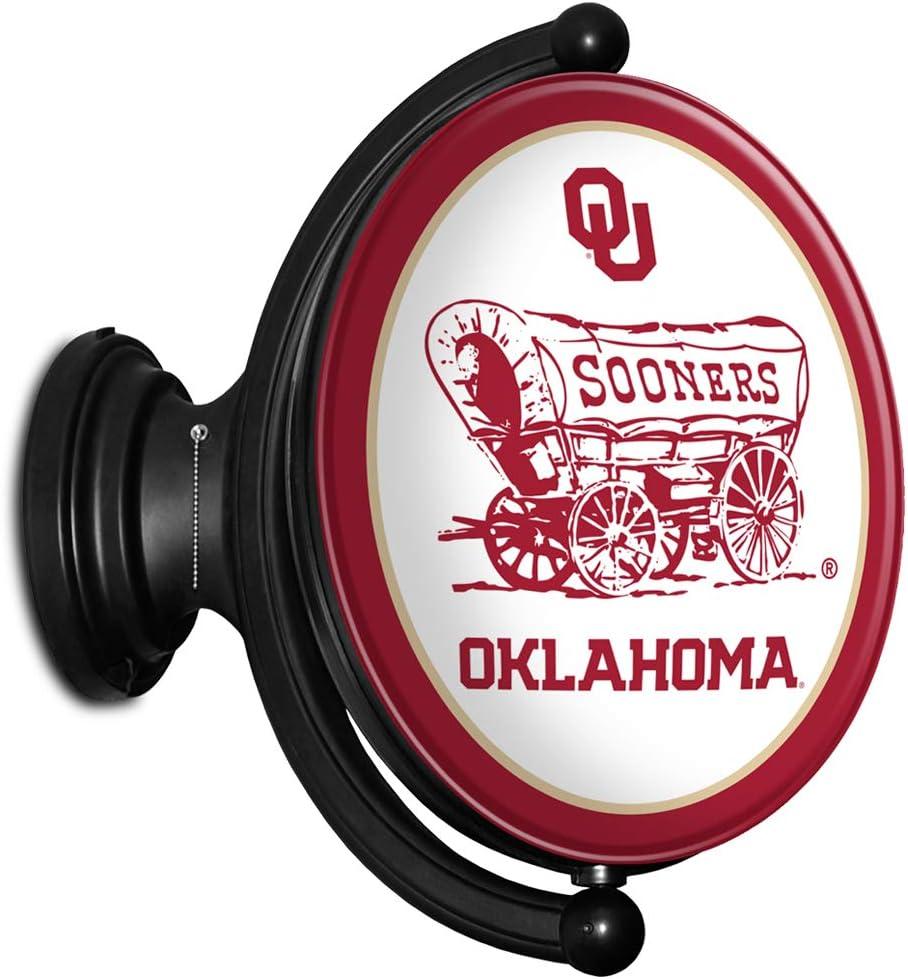 OU University of Oklahoma Sooners Sign Wall Illuminated Soldering Max 77% OFF Rotating