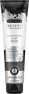 Freeman Beauty Infusion Mask Cleansing Clay 4 Ounce (Probiotic) (118ml) (2 Pack)