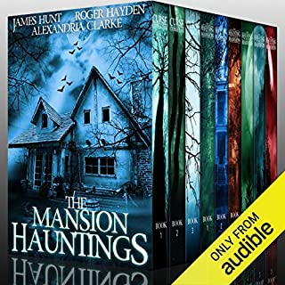 The Mansion Hauntings audiobook cover art