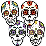 Big Dot of Happiness Day of the Dead - Sugar Skull Decorations DIY Halloween Party Essentials - Set of 20