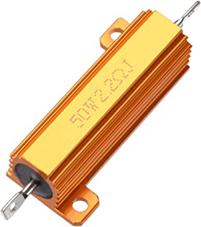 carico LED Bulbs Cavi di cablaggio a singola resistenza EBTOOLS 2 PCS Harness Single Resistance 12V 50W 7443 8RJ Cavi a resistenza singola