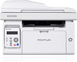 Sponsored Ad - All-in-One Printer with Scanner Copier and ADF, Wireless Black and White Laser Printer Print at 23ppm, Pant...