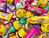 Easter Candy Assortment KISSES Milk Chocolate Candy, REESE'S, and More - Bulk 2 Lbs