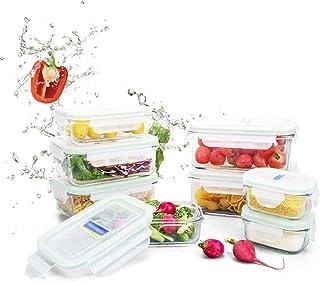 LINGLING Céréales Conteneurs/verre Boîte à lunch/gâteries Rangement et organisation/verre Bento Boîtes/repas Préparation d...