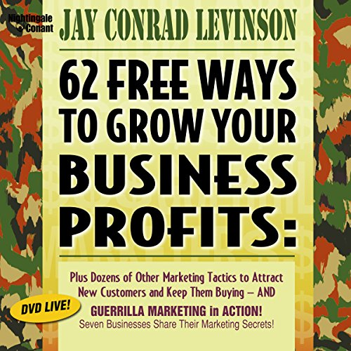 Page de couverture de 62 Free Ways to Grow Your Business Profits