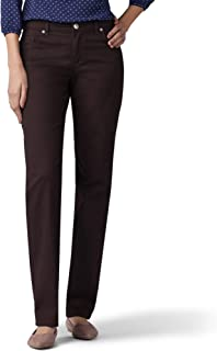 LEE Women's Size Relaxed Fit Straight Leg Jean