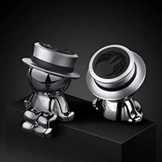Magnetic Car Phone Holder AUSELECT Dashboard Phone Mount Little Man B Style Silver Hat