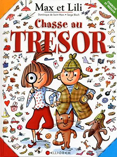 Chasse au trésor Max et Lili - Cherche et trouve
