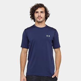 Camiseta Under Armour Raid Ss Brazil Smu Masculino