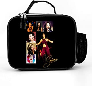 MotleyRock Selena Quintanilla Insulated Lunch Box | School Lunch Bag for Kids, Boys | Durable Reusable Work Lunch Pail Cooler for Adult Men, Women, Office