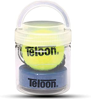 Teloon Mini Portable Iron Base Tennis Trainer for Single Player Exercise Rebound Sparring Device Tennis Training Tool
