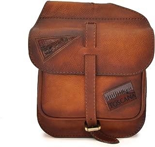 Pratesi Bisaccia Small Cross-Body Bag - B135/P Bruce (Brown)