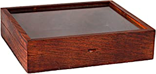 Hashcart Wooden Spice Organizer Box - Dry Fruits Storage Container for Kitchen