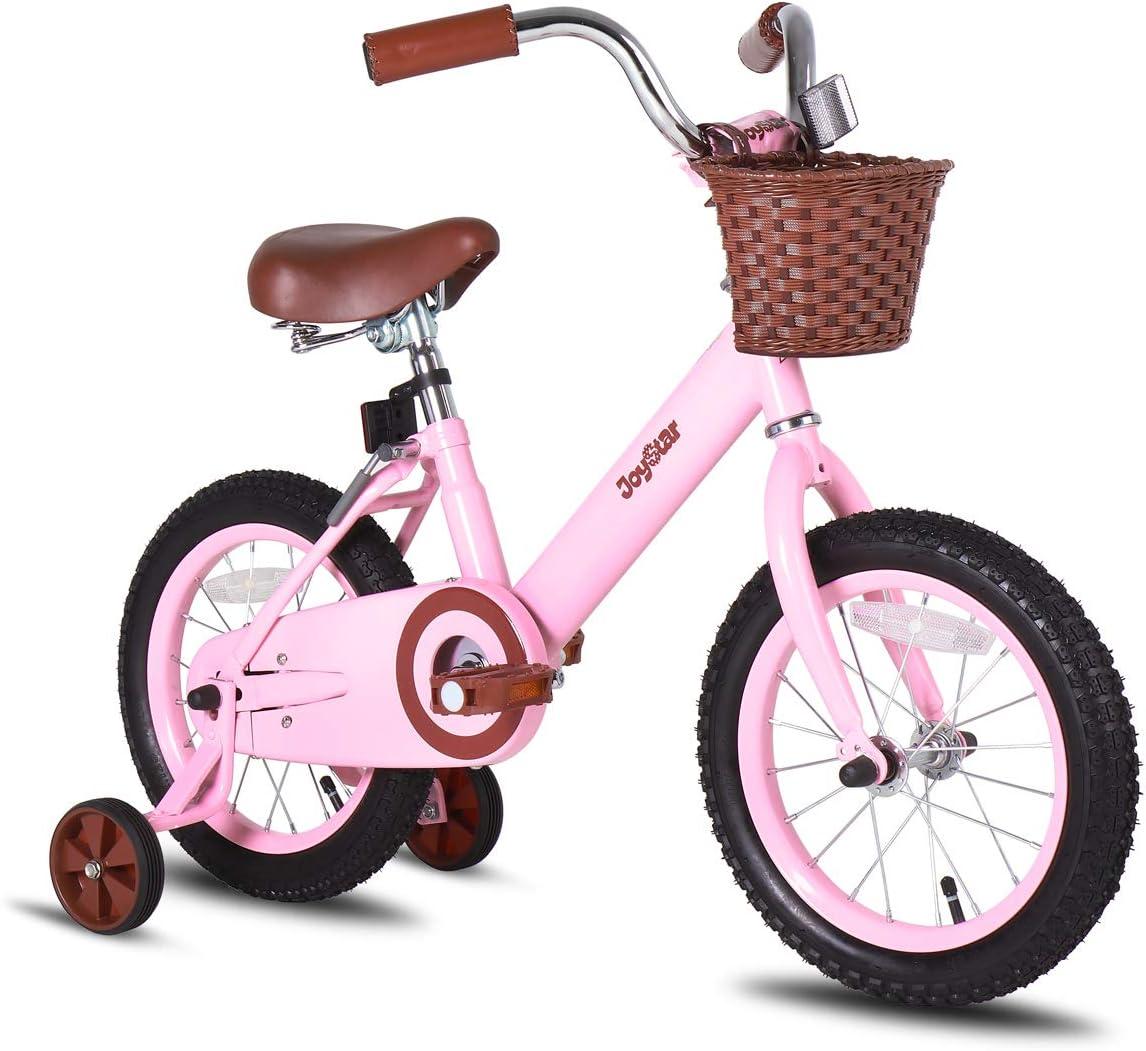 JOYSTAR Vintage 12 14 16 Limited New popularity time trial price Inch Basket Traini Bike Kids with