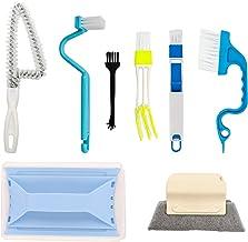 Creative Window Groove Cleaning Brush, Magic Brush, Hand-held Crevice Cleaner Tools, Fixed Brush Head Design Scouring Pad ...