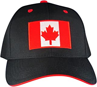 Canadian Maple Leaf Flag Hat – Embroidered Patch Baseball Cap