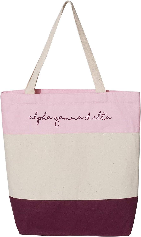 Alpha Gamma Delta - Sorority Tote Bag