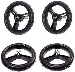 Mountain Buggy Aerotech Wheel Set for Duet Stroller, Black