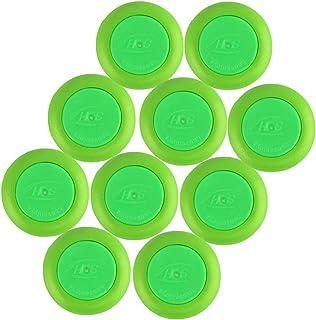 EKIND 60 PCS Safety Foam Refill Bullets Compatible for Nerf Vortex Disc Blaster Ammo Praxis Nitron Vigilon (Green)