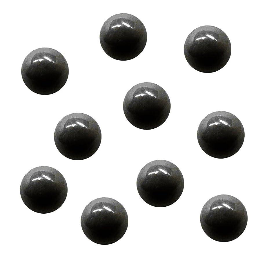 思春期ハム気絶させるサンシャインベビー ジェルネイル ジュエリーボール ブラック5mm 10P