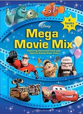 Disney Mega Movie Mix (Coloring Book) by RH Disney (2009-08-11)