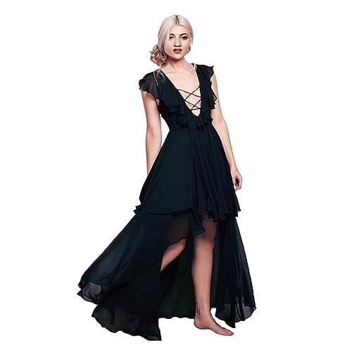 Black Flowy Dress Amazon