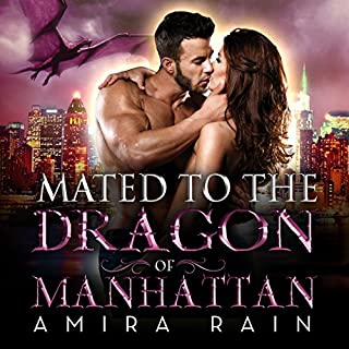 Mated to the Dragon of Manhattan audiobook cover art