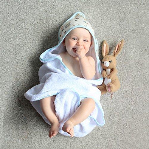Baby Hooded Towel & Drawstring Bag