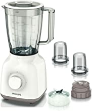 Philips Jug Blender 400 Watts - HR2114, White, Plastic