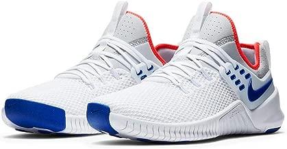 Nike Mens Free X Metcon Cross Trainer Shoe (8.5, White/Racer Blue/Pure Platinum)