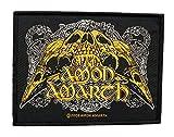 Amon Amarth parche–Raven Skull Patch–tejida & licencia oficial.