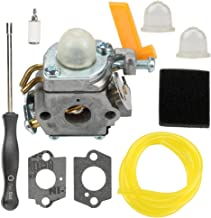 Butom RY30002A Carburetor with Air Filter Adjustment Tool for Ryobi RY30000 RY30000A CS30 RY30002 RY30041A SS30 RY30004 RY30004A RY30061A BC30 RY30021A RY52001 RY52003 30cc String Trimmer Gas Pruner